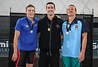 Swimming New Zealand National Short Course Championships, National Aquatic Centre, New Zealand,Tuesday 2nd October 2018. Photo: Simon Watts/www.bwmedia.co.nz