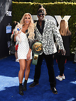 """LOS ANGELES - OCTOBER 4: R Truth attends the kick-off event for the """"WWE Friday Night Smackdown on FOX"""" at Staples Center on October 4, 2019 in Los Angeles, California. (Photo by Frank Micelotta/Fox Sports/PictureGroup)"""