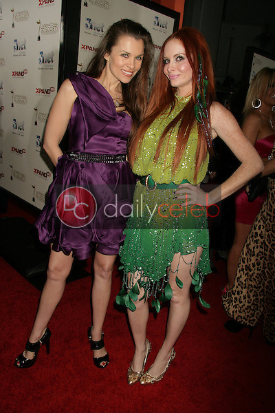 Alicia Arden and Tila Tequila<br /> at the 2nd Annual 3D Creative Arts Awards, Chinese Theatre, Hollywood, CA. 02-09-11<br /> David Edwards/DailyCeleb.com 818-249-4998