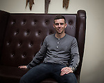 © Joel Goodman - 07973 332324 . 24 April 2013 . Worsley Marriot Hotel and Country Club, Manchester , UK . Current Fleetwood Town and former Bury FC captain , STEVEN SCHUMACHER , portrait session . Photo credit : Joel Goodman