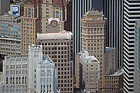 aerial photograph 33 New Montgomery St, Hobart Building skyscrapers San Francisco