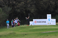 Will Besseling (NED) on the 4th tee during Round 3 of the Challenge Tour Grand Final 2019 at Club de Golf Alcanada, Port d'Alcúdia, Mallorca, Spain on Saturday 9th November 2019.<br /> Picture:  Thos Caffrey / Golffile<br /> <br /> All photo usage must carry mandatory copyright credit (© Golffile | Thos Caffrey)