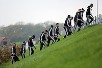 2015 10 27 Swansea City FC training at Fairwood,Swansea, UK