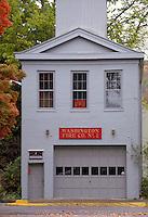 Washington Fire Co. No. 2, restored 19th century fire house. Madison Indiana.