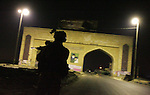 Night patrols in Iraq, 2005