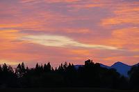 Sunrise in the Flathead Valley