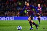 UEFA Champions League 2018/2019 - Matchday 6.<br /> FC Barcelona vs Tottenham Hotspur FC: 1-1.<br /> Coutinho.