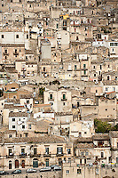 Modica, part of the Unesco World Heritage site of the Baroque Towns of the Val di Noto in south-eastern Sicily, Italy