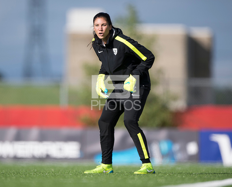 Winnipeg, Canada- June 6, 2015:  The USWNT trained in preparation for their opening group game of the FIFA Women's World Cup.