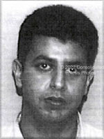 Washington, DC - September 26,  2001 -- Photo released by FBI of  Wail M. Alshehri, one of the alleged hijackers of American Airlines Boeing 767 designated as Flight #11, from Boston to Los Angeles.  The flight departed Boston at 7:45 AM on Tuesday, September 11, 2001 and crashed into the North Tower of the World Trade Center  an hour later at 8:45 AM..Credit: FBI via CNP