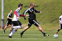 Pictured: Kristian O'Leary (R) Thursday 21 May 2015<br />