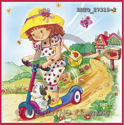 Alfredo, CHILDREN, paintings(BRTO27315-2,#K#) Kinder, niños, illustrations, pinturas ,everyday