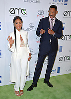 BURBANK, CA. October 22, 2016: Jada Pinkett Smith &amp; Will Smith at the 26th Annual Environmental Media Awards at Warner Bros. Studios, Burbank.<br /> Picture: Paul Smith/Featureflash/SilverHub 0208 004 5359/ 07711 972644 Editors@silverhubmedia.com