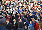 02/05/16 Sky Bet League Championship  Burnley v QPR<br /> Burnley celebrate promotion back to thePremier League