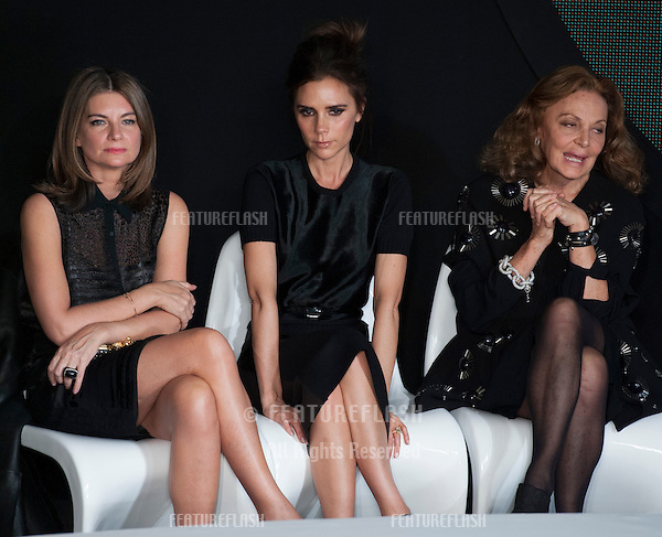 Victoria Beckham on the judges panel at the International Woolmart Awards, ME Hotel, Aldwych, London..16/02/2013 Picture by: Simon Burchell / Featureflash