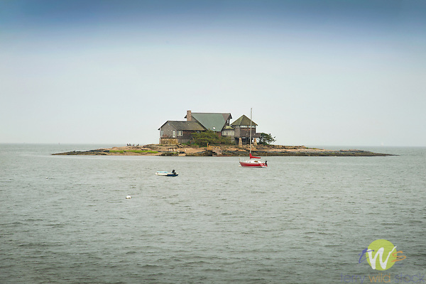 Island hideaway cottage. Indian Creek, Branford, CT . Long Island Sound.