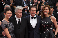 Emily Stofle, David Lynch, Kyle MacLachlan, Desiree Gruber at the premiere for 'Twin Peaks' at the 70th Festival de Cannes. <br /> May 25, 2017 Cannes, France<br /> Picture: Kristina Afanasyeva / Featureflash