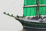 20150812 Einlaufen der Windjammer Sail 2015