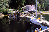 Kildonan Cannery Lodge, Uchucklesaht Inlet, Vancouver Island, BC, British Columbia, Canada - Historic West Coast Cannery House
