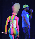 Nicki Minaj performs live at The Honda Center in Anaheim, California on April 25,2011                                                                   Copyright 2010  DVS / RockinExposures