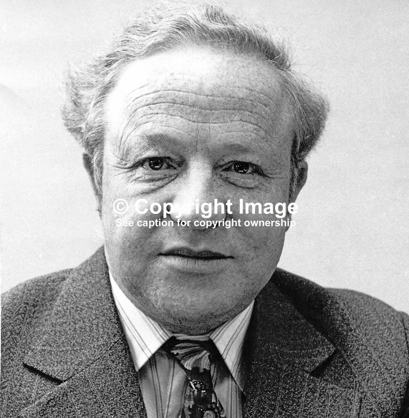 Stewart Tennant, shipbuilding director, Harland &amp; Wolff Ltd, Belfast, N Ireland, UK, 197512170775<br />