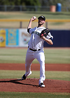 Max Povse - Peoria Javelinas - 2017 Arizona Fall League (Bill Mitchell)