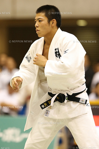 Hifumi Abe,<br /> September 13, 2014 - Judo : <br /> All Japan Juior Judo Championships <br /> Men's -66kg Final<br /> at Saitama Kenritsu Budokan, Saitama, Japan. <br /> (Photo by Shingo Ito/AFLO SPORT) [1195]