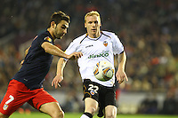 valencia cd VS atletico de madrid ; Europa league, futbol, valencia 26 abril 2012