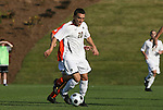 12 November 2008: Boston College's Mario Uribe. Boston College defeated Clemson University 1-0 in the second sudden-victory overtime period at Koka Booth Stadium at WakeMed Soccer Park in Cary, NC in a men's ACC tournament quarterfinal game.