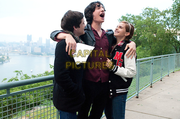 Logan Lerman, Ezra Miller, Emma Watson<br /> in The Perks of Being a Wallflower (2012) <br /> (Le monde de Charlie)<br /> *Filmstill - Editorial Use Only*<br /> CAP/NFS<br /> Image supplied by Capital Pictures