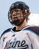 Mitchell Fossier (Maine - 11) - The University of Maine Black Bears defeated the University of Connecticut Huskies 4-0 at Fenway Park on Saturday, January 14, 2017, in Boston, Massachusetts.
