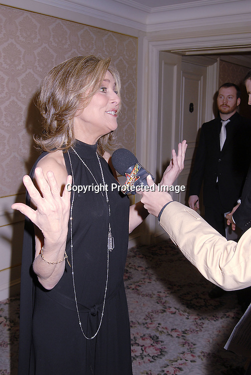 Meredith Vieira..at The Museum of The Moving Image Dinner Honoring ..Matt Lauer, co-anchor of NBC News' Today and Debra Lee, Chairman and ECO of BET Networks on April 26, 2007 at The St Regis Hotel. ..Robin Platzer, Twin Images