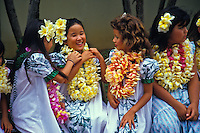 Keiki hula at the Waikiki Shell