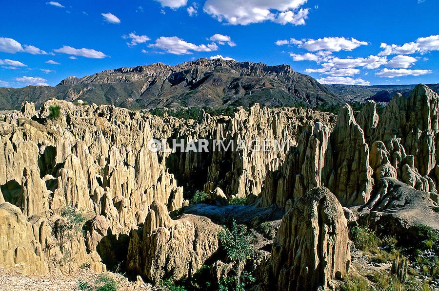 Parque La Luna em La Paz. Bolivia. 1998. Foto de Juca Martins.