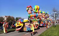 Nederland Oss - 2019. Halfvastenoptocht in Oss. Jaarlijkse afsluiting van het Carnaval seizoen. De mooiste wagens en loopgroepen uit de regio presenteren zich voor de laatste keer aan het publiek. Foto Berlinda van Dam / Hollandse Hoogte