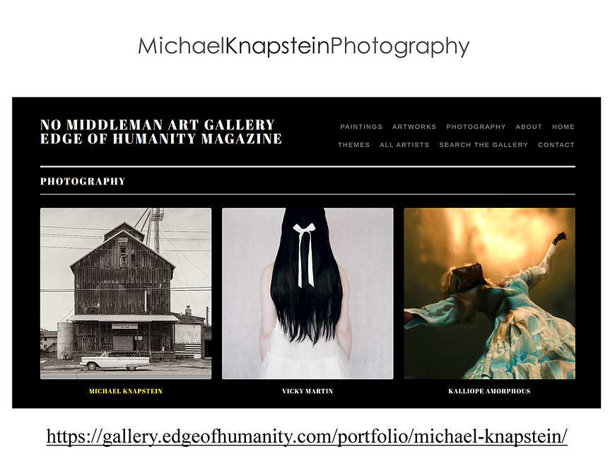 """A portfolio of """"Midwest Memoir"""" images by Michael Knapstein were added to the Edge of Humanity Gallery."""