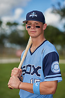 Bobby Witt during the WWBA World Championship at the Roger Dean Complex on October 20, 2018 in Jupiter, Florida.  Bobby Witt is a shortstop from Colleyville, Texas who attends Colleyville Heritage High School and is committed to Oklahoma.  (Mike Janes/Four Seam Images)