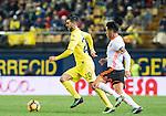 Roberto Soriano of Villarreal CF in action during their La Liga match between Villarreal CF and Valencia CF at the Estadio de la Cerámica on 21 January 2017 in Villarreal, Spain. Photo by Maria Jose Segovia Carmona / Power Sport Images