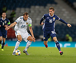 06.09.2019 Scotland v Russia, European Championship 2020 qualifying round, Hampden Park:<br /> Kenny McLean and Artem Dzyuba