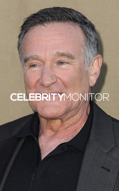 BEVERLY HILLS, CA - JULY 29: Robin Williams attends the CBS, Showtime, CW 2013 TCA Summer Stars Party at 9900 Wilshire Blvd on July 29, 2013 in Beverly Hills, California. (Photo by Celebrity Monitor)
