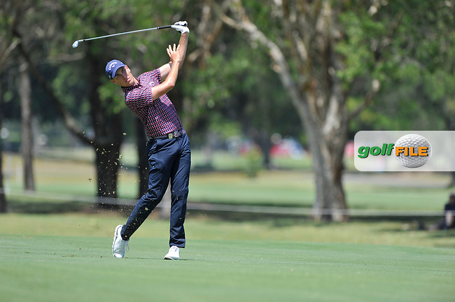 Anthony Quayle (NZL) during the 3rd round of the Australian PGA Championship, Royal Pines Resort Golf Course, Benowa, Queensland, Australia. 01/12/2018<br /> Picture: Golffile | Anthony Powter<br /> <br /> <br /> All photo usage must carry mandatory copyright credit (© Golffile | Anthony Powter)