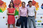 (L to R) Rita Maestre, Marta Higueras and Inigo Errejon during photocall of the lgtb pride party of Madrid. July 3, 2019. (ALTERPHOTOS/JOHANA HERNANDEZ)