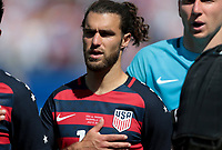Nashville, TN - Saturday July 08, 2017: Graham Zusi during a 2017 Gold Cup match between the men's national teams of the United States (USA) and Panama (PAN) at Nissan Stadium.