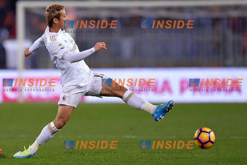 Keisuke Honda Milan.<br /> Roma 12-12-2016  Stadio Olimpico<br /> Campionato Serie A, Derby<br /> AS Roma - Milan <br /> Foto Antonietta Baldassarre / Insidefoto