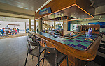 12 July 2013: View of the bar at Cobalt Coast Resort, in West Bay, Grand Cayman Island. Located in the British West Indies in the  Caribbean, the Cayman Islands are renowned for excellent scuba diving, snorkeling, beaches and banking.  Mandatory Credit: Ed Wolfstein Photo *** RAW (NEF) Image File Available ***
