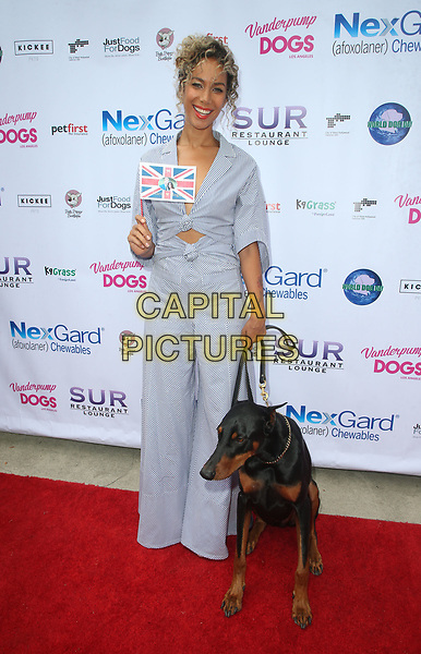 WEST HOLLYWOOD, CA - MAY 19:  Leona Lewis, at The Vanderpump Dog Foundation's 3rd Annual World Dog Day Event Presented by NexGard &amp; SUR Restaurant on May 19, 2018 at West Hollywood Park in West Hollywood, California on May 19, 2018. <br /> CAP/MPI/FS<br /> &copy;FS/MPI/Capital Pictures