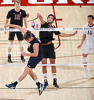 STANFORD, CA; February 11, 2017; Men's Volleyball, Stanford vs UCSB.