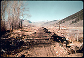 Old railroad bed in Crested Butte area.<br /> D&amp;RGW  Crested Butte, CO