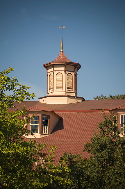 Cupola of restored carriage house at Charles Krug winery