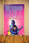"Theatre Poster during the ""Be More Chill"" Press Preview Presentation at Pearl Studios on January 23, 2019 in New York City."